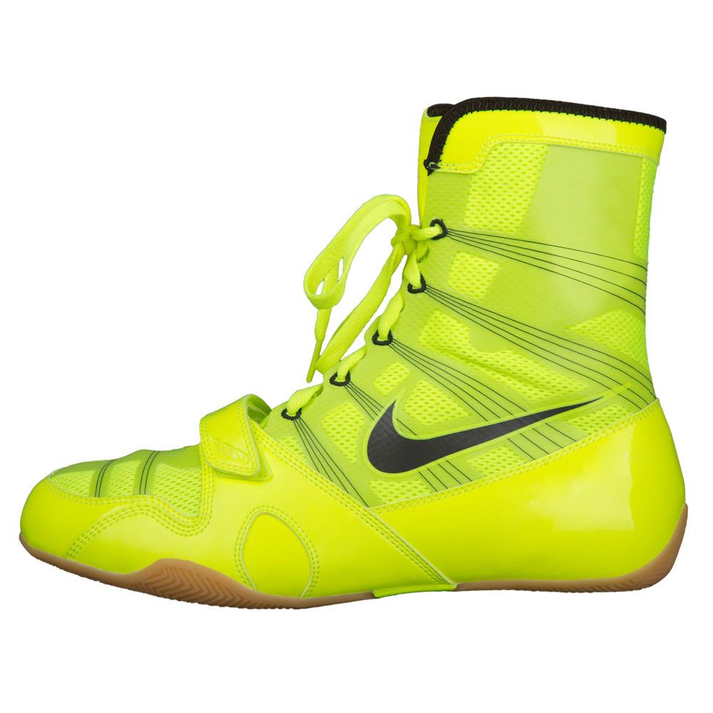 Neon Yellow Nike Boxing Shoes