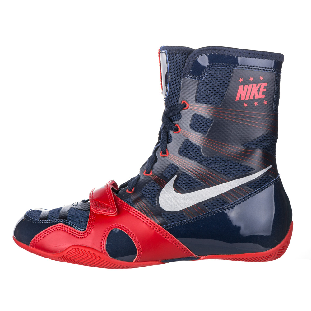 Nike Hyperko Boxing Shoes Navy Red