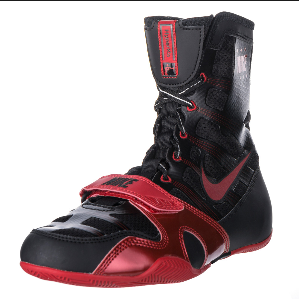 Nike Hyperko Boxing Shoes Black Red