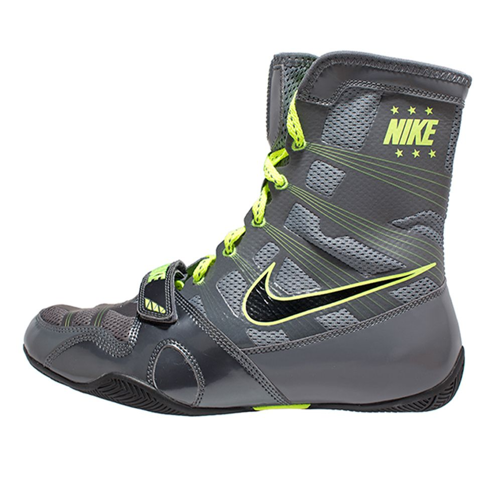 Grey And Lime Green Nike Shoes