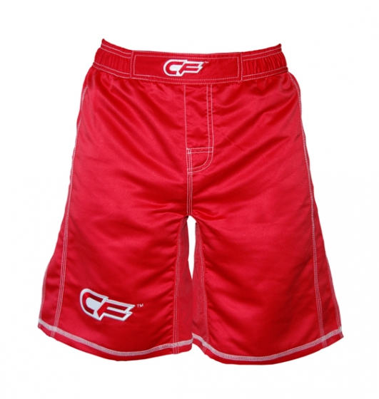 Cage Fighter Youth Tonal Red Fight Shorts