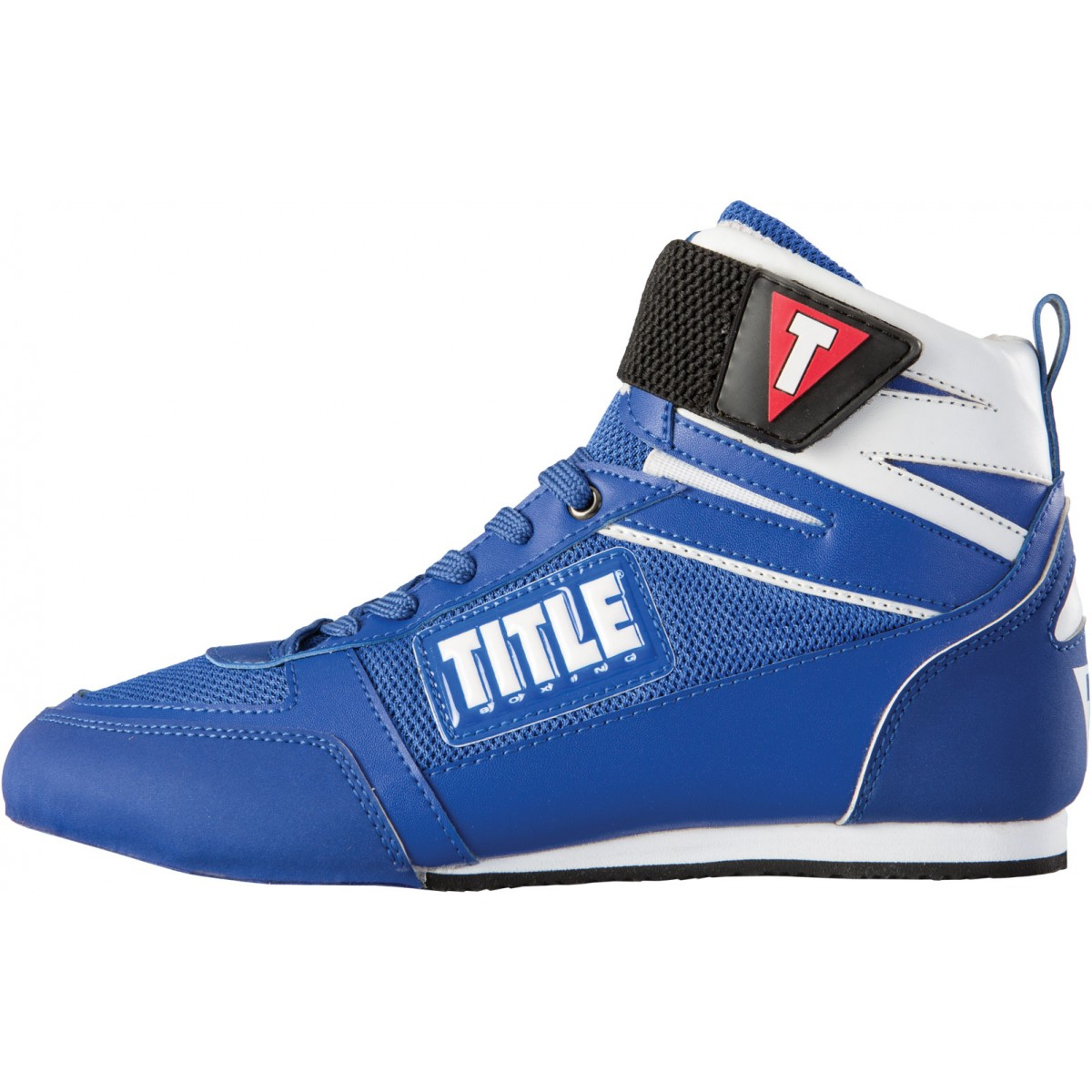 Title Leather Boxing Shoes
