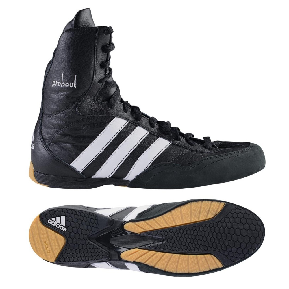Women S Boxing Probout Leather Shoes