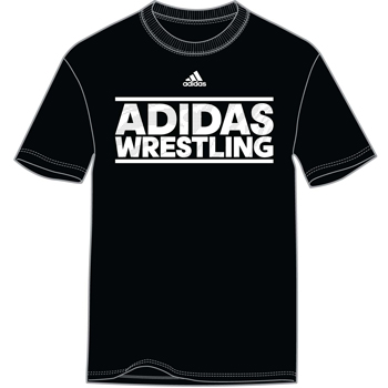 Adidas Wrestling T Shirt Black
