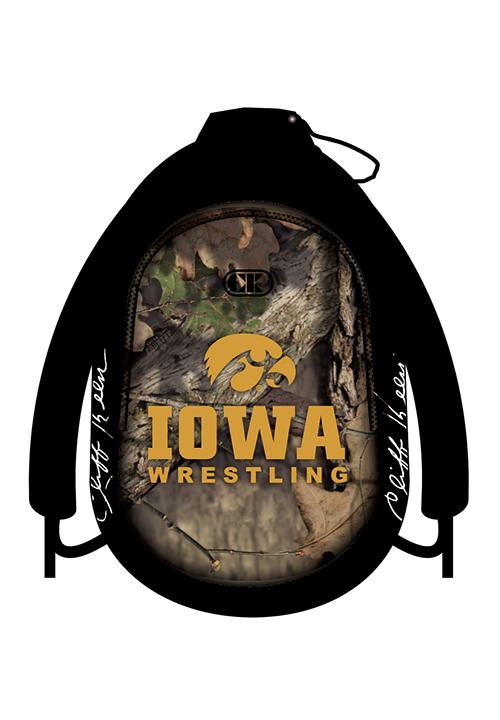Cliff Keen Iowa Mossy Oak Backpack