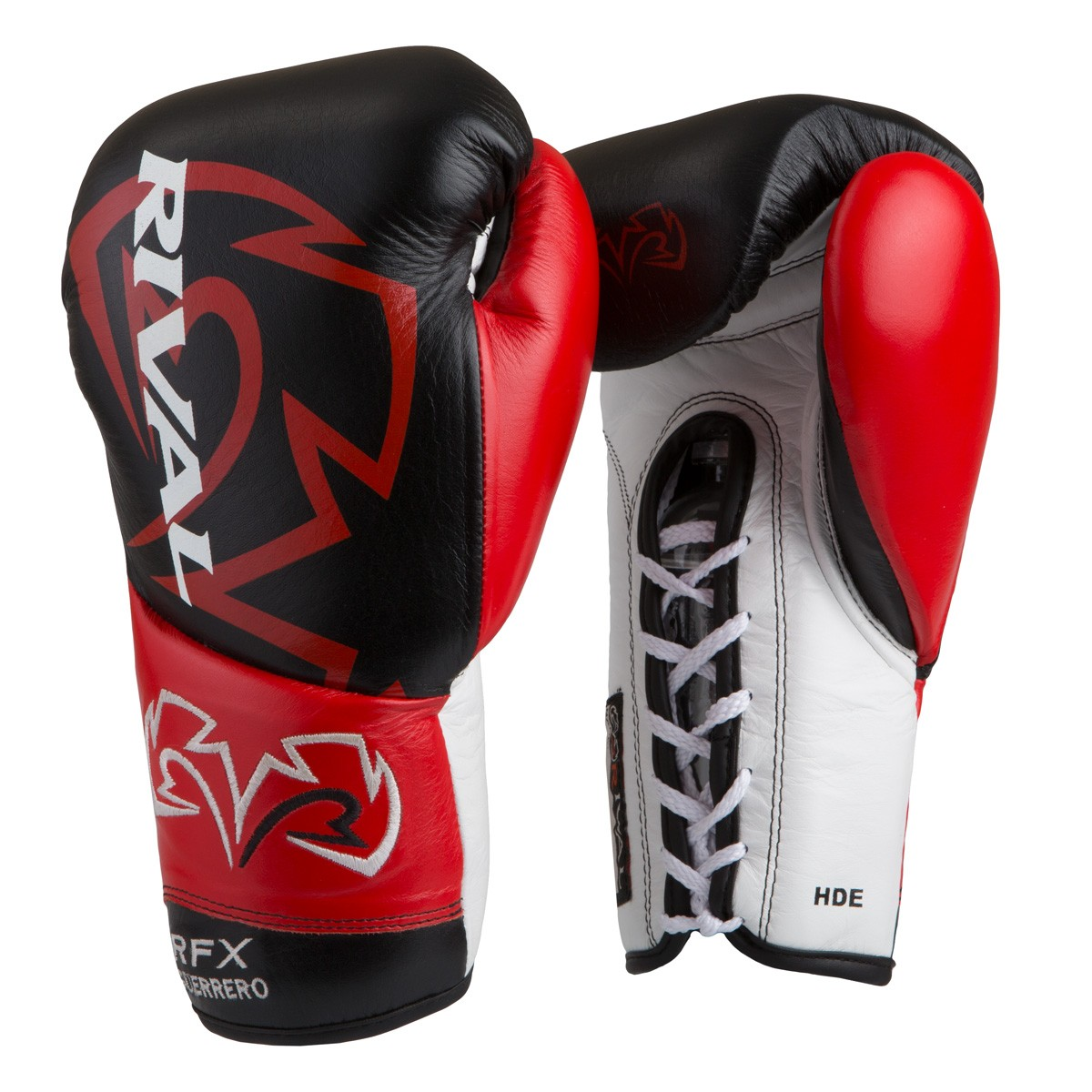 Rival Rfx Guerrero Pro Fight Gloves Black Red