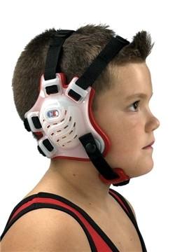 Cliff Keen Youth Wrestling Tornado Headgear Translucent