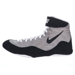 Women's Nike Inflict Wrestling Shoes - Grey/Black