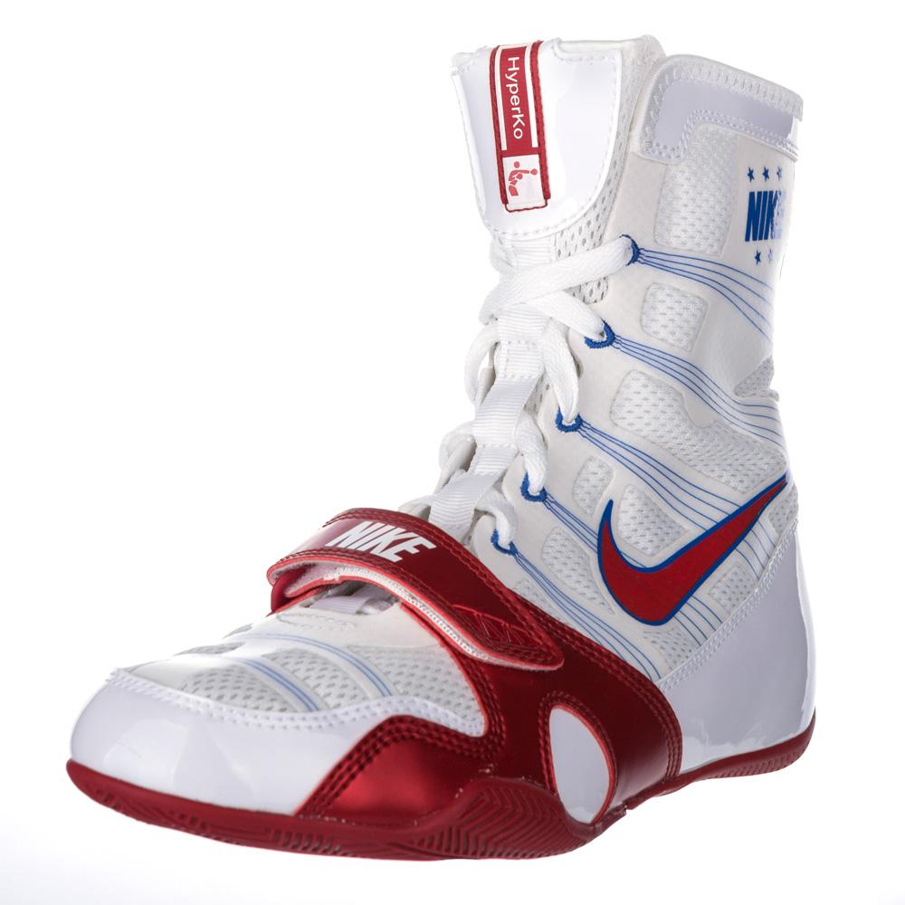 Nike Velcro Gloves: Nike HyperKO Boxing Shoes
