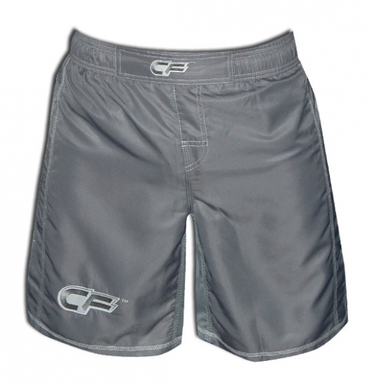 Cage Fighter Youth Tonal Grey Fight Shorts
