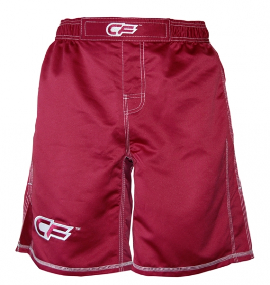 Cage Fighter Maroon Tonal Fight Shorts