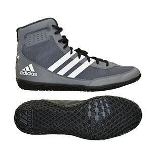 Adidas Mat Wizard Wrestling Shoe Grey Black White