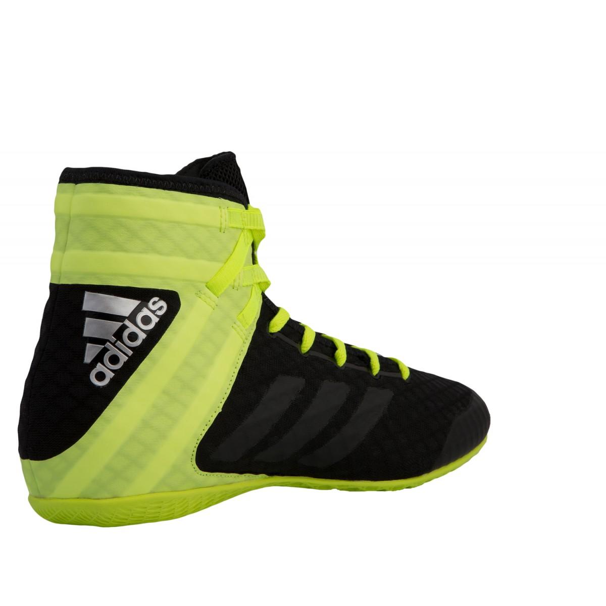 Women S Adidas Speedex 16 1 Boxing Shoes Black Yellow