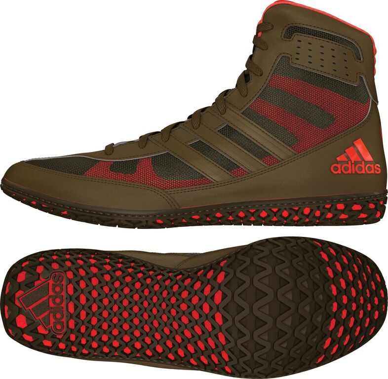 Adidas Mat Wizard David Taylor Edition Olive Orange Olive