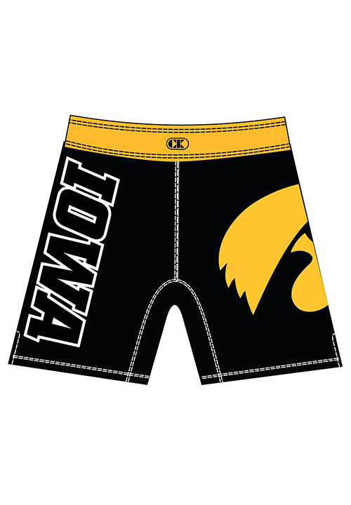 Cliff Keen Youth Iowa Sublimated Wrestling Board Shorts