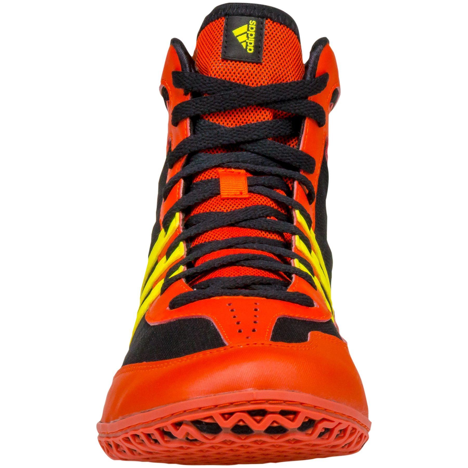 ae8b927c8b3 Adidas Mat Wizard 3 Youth Wrestling Shoe Red