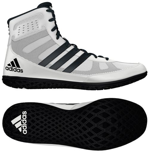 Adidas Mat Wizard Wrestling Shoe White Black