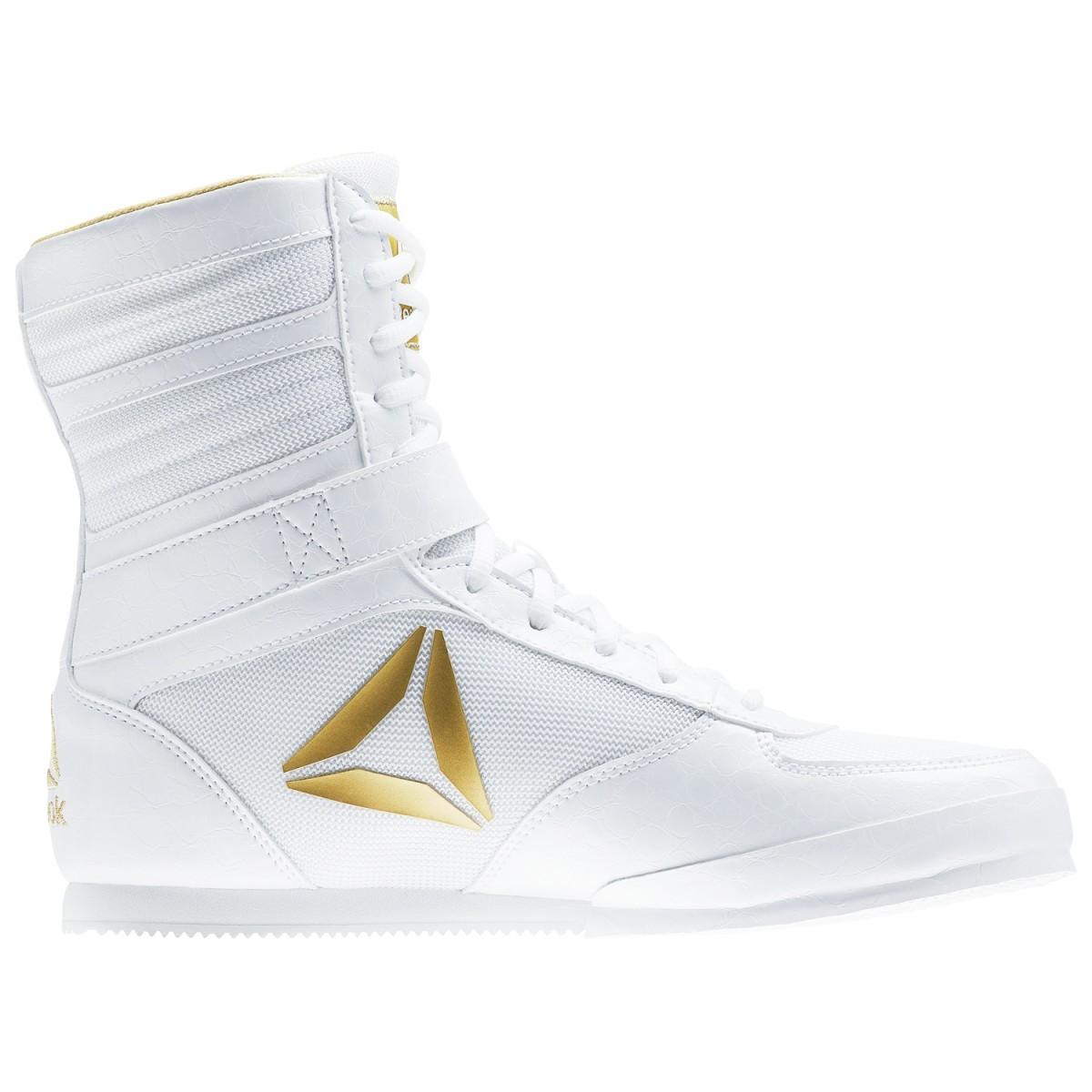 74c07fd3f507 Reebok Renegade Pro Boxing Boots - White Gold