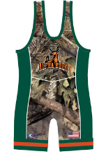 Cliff Keen Metcalf Series Buck Sublimated Singlet