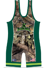Cliff Keen Metcalf Series Bull Sublimated Singlet