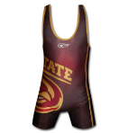Cage Fighter NCAA Iowa State Singlet