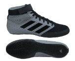 Adidas Mat Hog Wrestling Shoe - Grey / Black
