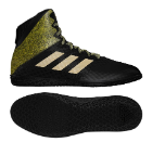 Adidas Mat Wizard Hype Wrestling Shoe - Black / Gold