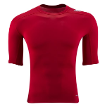 Adidas Tech Fit Short Sleeve - Red