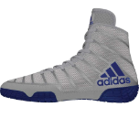 Women's Adizero Varner 2 Wrestling Shoe - Grey/Royal/White