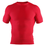 Clinch Gear Basic Rashguard - Red