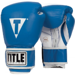Title Pro Style Leather Training Gloves (14 oz.)