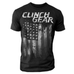 Clinch Gear America Crew Tee - Charcoal