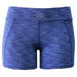 Cross Training Compression Micro Booty Shorts - Blue Royal