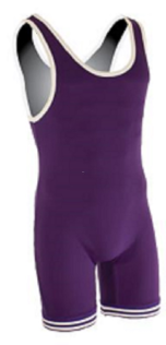 Matman Nylon Singlet - Purple