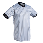 Cliff Keen Gray Ultra-Mesh Performance V-Neck Referee Shirt