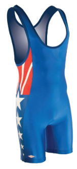 Matman Sidney Wrestling Singlet - Royal