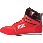 Title Box-Star Incite Elite Boxing Shoes - Red