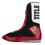 Title Elevate Enrage Tall Boxing Shoes - Red