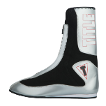 Title Elevate Enrage Tall Boxing Shoes - Silver