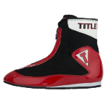 Women's Title Enrage Mid Boxing Shoes - Red