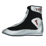 Women's Title Enrage Mid Boxing Shoes - Silver