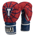 Title Infused Foam Spider Web Boxing Gloves (14 oz.)