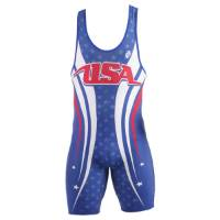 Clinch Gear USA Singlet - Royal